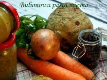 Bulionowa pasta mięsna, czyli domowa kostka