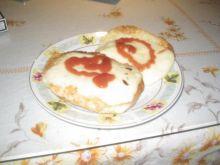bułka zapiekana z serem