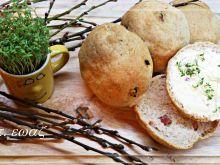 Bułki mieszane z boczkiem i serem