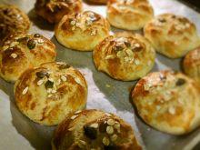 Bułki pszenno-żytnie z otrębami