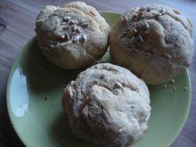 Bułki pszenno-żytnie ze słonecznikiem