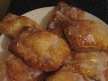 Bułki serowe z cytrynowym lukrem