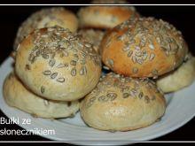 Bułki śniadaniowe ze słonecznikiem według  Laluni