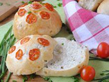 Bułki szczypiorkowo- pomidorowe