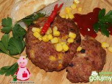 Buniowe burgery z kukurydzą :
