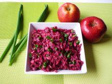 Buraki czerwone z chrzanem i majonezem