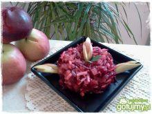 Burczaki z pamelo i jabłkiem