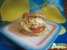 Burger  drobiowy.