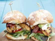 Burger-Sałatka Cobb