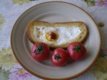 Bycze oko (Jajko w chlebie)