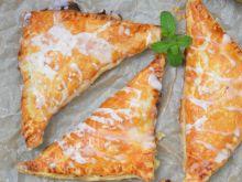 Ciastka francuskie z rabarbarem w mascarpone