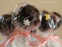 Cake pops- ciasteczka lizaki