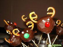 Cake Pops- lizaki ciasteczkowe Renifery!