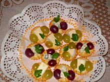 Camembert i Roquefort na krakersach