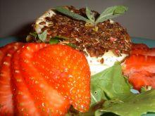 Camembert z musem pomarańczowym i nutą truskawkową