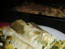 Cannelloni i Casarecce z kurczakiem i szpinakiem