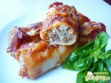 Cannelloni nadziewane mięsem i kapustą