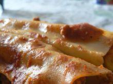 Cannelloni z mięsem mielonym i kukurydzą