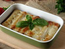 Cannelloni z mięsem mielonym i serem kozim