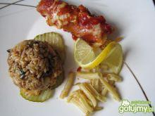 Cannelloni z warzywami i mięsem