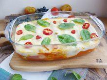 Cannelloni ze szpinakiem i mięsem