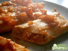 Canneloni z farszem serowo-pomidorowym