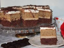 Cappuccino- ciasto tortowe