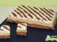 Cappuccino-kremowe ciasto