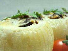 Cebule faszerowane ryżem i grzybami