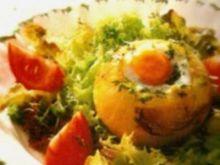 Cebulki z żółtym oczkiem