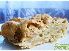 Cebulowo - jabłkowa pieczeń