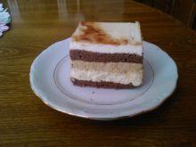 Chałwowo czekoladowe ciasto
