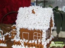 Chatka z piernika i śnieg - ciepłe lody