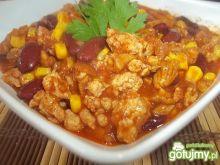 Chili con carne z kurkami