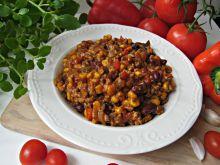 Chili con carne z suszonymi pomidorami
