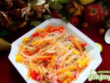 Chińska pomarańczowa sałatka