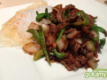 Chińska wołowina z warzywami