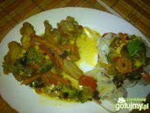 Chińskie z makaronem ryżowym Mariel