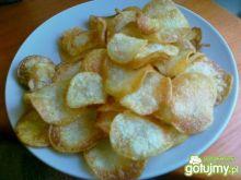 Chipsy solone z młodych ziemniaków
