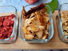 Chipsy/nachosy z tortilli