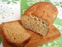 Chleb dyniowy, trochę orkiszowy