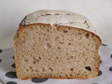 Chleb mleczny żytni na zakwasie