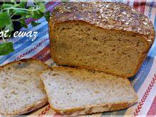 Chleb na zakwasie z owsianymi otrębami