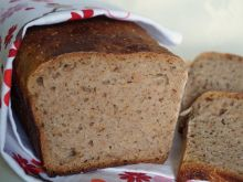 Chleb orkiszowo-żytni z otrębami orkiszowymi