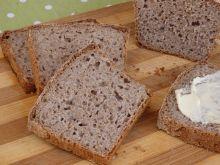 Chleb pszenno-gryczany na zakwasie