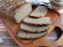 Chleb pszenno - jaglany na zakwasie