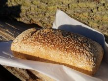 Chleb pszenno-orkiszowy z jaglanką
