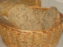 Chleb pszenno-zytni z siemieniem lnianym