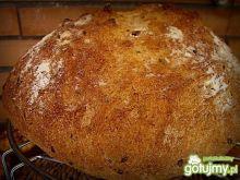 Chleb pszenny na drożdżach z czosnkiem