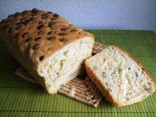 Chleb pszenny z pestkami dyni - prosty
